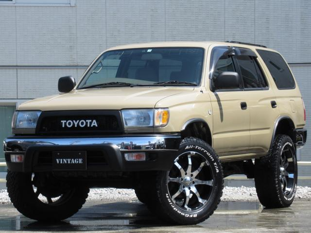 トヨタ SSR-Gリフトアップ4Ruuner仕様20インチサンルーフ
