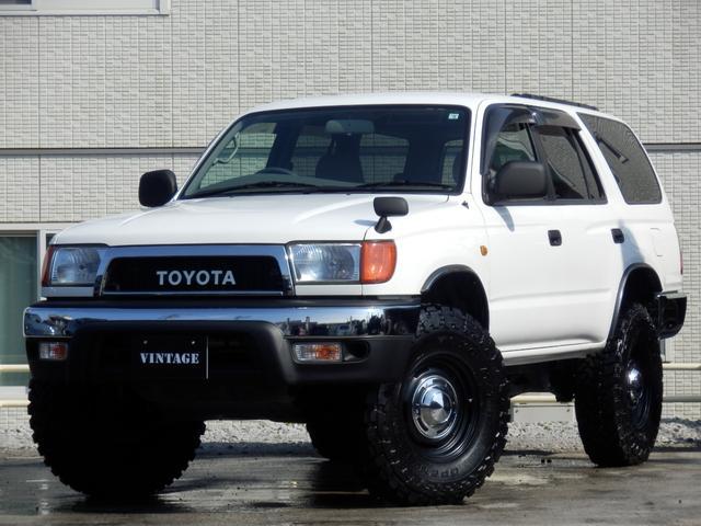 トヨタ SSR-X 後期最終型ナロークラシックコンプリート純正ホワイト4Runner仕様新品2インチリフトアップ新品DEAN16インチホイール新品マッドタイヤ実走行8万キロ台関東仕入TOYOTAグリル茶内装USモール