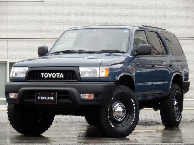トヨタ SSR-X 後期最終型4Runner仕様クラシックコンプリート新品BFグッドリッチ新品DEANクロスカントリー16AW新品2インチリフトアップアウトレーシング社製4RunnnerモールTOYOTAグリル切替4WD