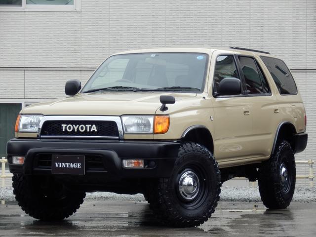 トヨタ SSR-X ナロークラシックコンプリート2インチリフトアップUS4Runner仕様DEANクロスカントリー16インチUSコーナーレンズクリスタルサイドマーカーTOYOTAクラシックグリル新品MTタイヤ関東仕入