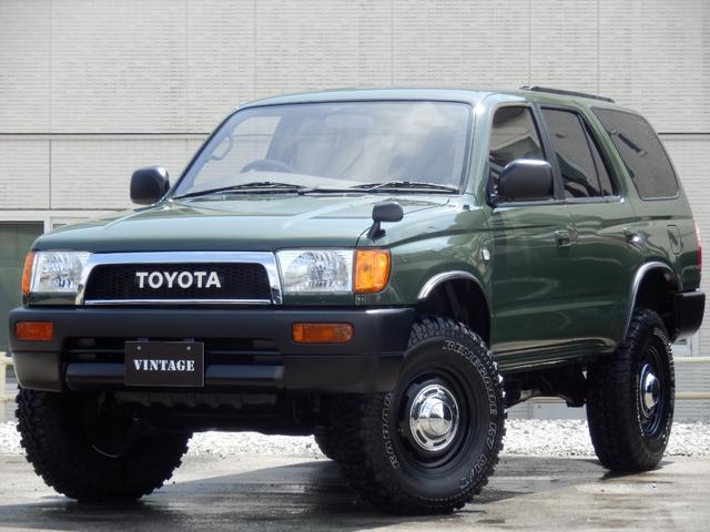 トヨタ SSR-X ナロークラシックコンプリートディーゼルターボ4WD2インチUP4RunnnerモールDEANクロスカントリー16インチ西日本仕入TOYOTAグリルクリスタルヘッドライトオレンジコーナーレンズ