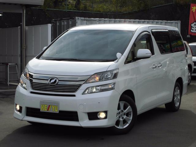 トヨタ 2.4V 4WD 地デジツインナビ 両側電動スライドドア