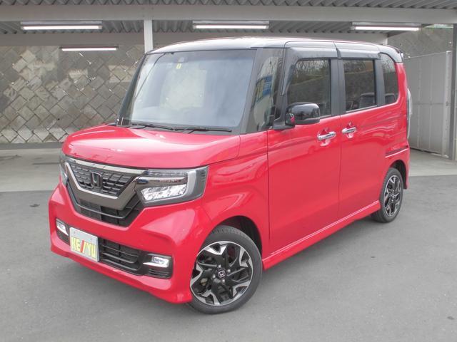 ホンダ 2トーンカラースタイル G・ターボLパッケージ 4WD ナビ