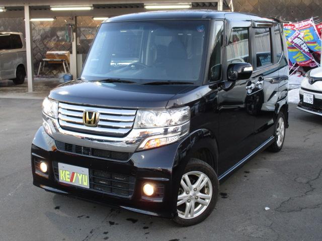 ホンダ G 4WD! モニターオーディオ フルセグ CD Bluetooth ETC 左パワースライドドア HIDヘッドライト スマートキー プッシュスタート アイドリングストップ オートライト 電動格納ミラー