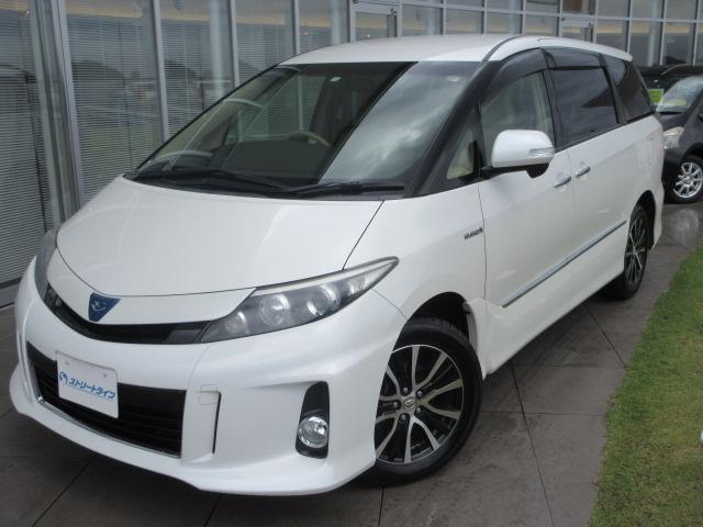 トヨタ エスティマハイブリッド アエラス 4WD