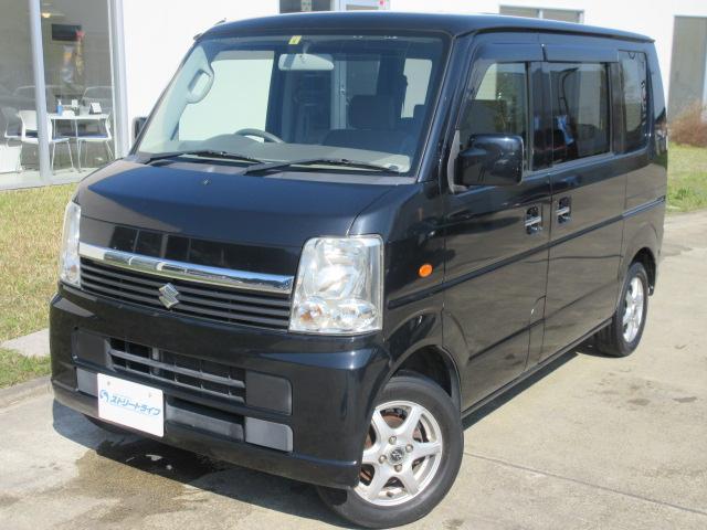スズキ エブリイワゴン JP 4WD/フルセグTV/スライドドア/シートヒーター/