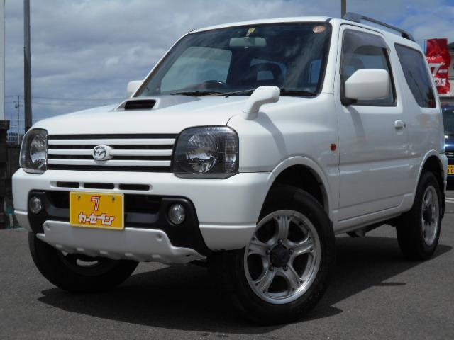 マツダ XC 4WD ETC ルーフレール 車検整備付