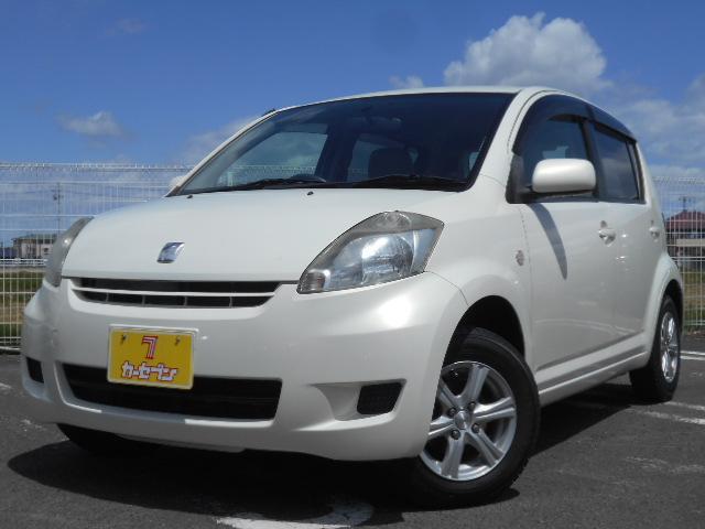 トヨタ パッソ X 車検整備付 キーレス ETC 純正CD