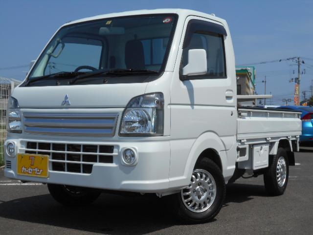 三菱 ミニキャブトラック G フルセグナビ パートタイム4WD エアコン フォグライト キーレス タイミングチェーン ワンオーナー