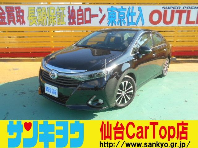 トヨタ S 純正HDDナビ 衝突軽減警報 ドラレコLEDヘッドライト