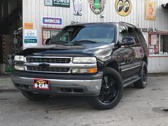 シボレー タホLT 4WD レザー ナビ オーディオ付 5名乗り SUV