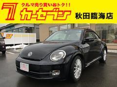 VW ザ・ビートルデザインレザーパッケージ 地デジナビ バックカメラ ETC