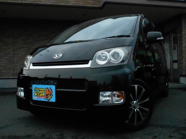 ダイハツ カスタム RS ターボ メモリーナビ 外品アルミ HID