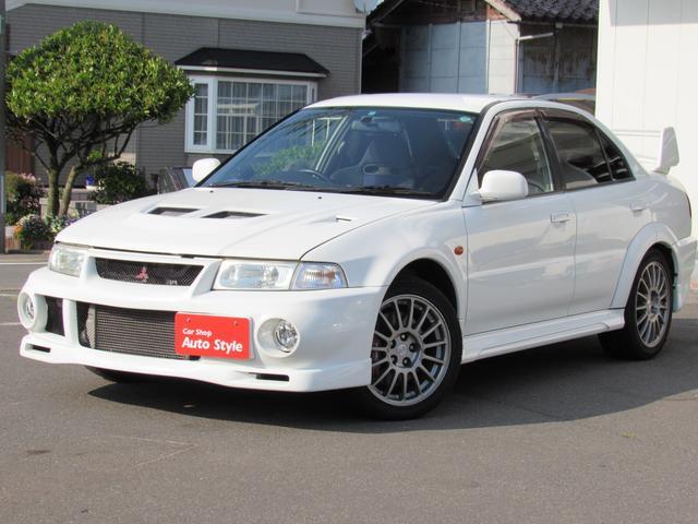 三菱 GSRエボリューションVI 4WD 5速マニュアル