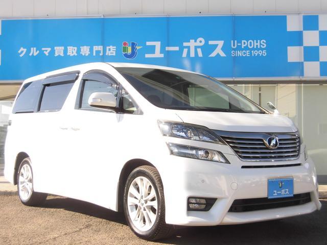 トヨタ 2.4Z プラチナムセレクション 4WD メーカーツインナビ