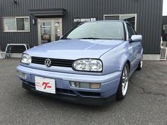 VW ゴルフカブリオレベースグレード 車高調 社外18AW