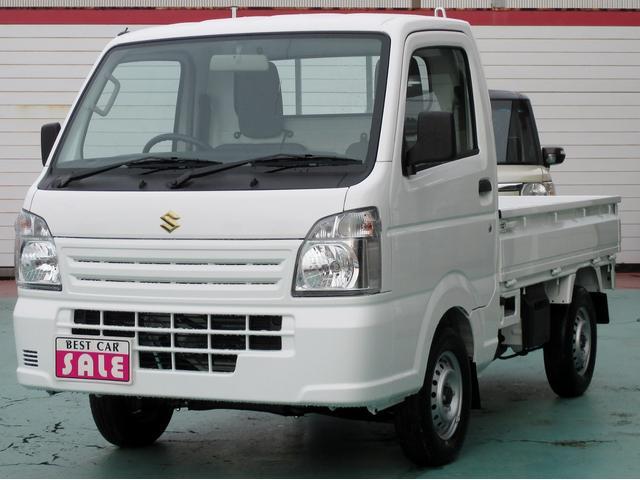 スズキ KCエアコン・パワステ 4WD W-エアバック ABS