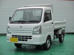 キャリイトラック新明和製ダンプ 4WD 届出済未使用車