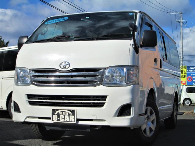 トヨタ ディーゼルターボ4WD 純正ナビ TV バックモニター