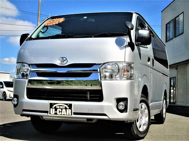 トヨタ ロングDX 30ディーゼルターボ4WD 4型 5ドア 6人乗り 地デジナビTV ETC