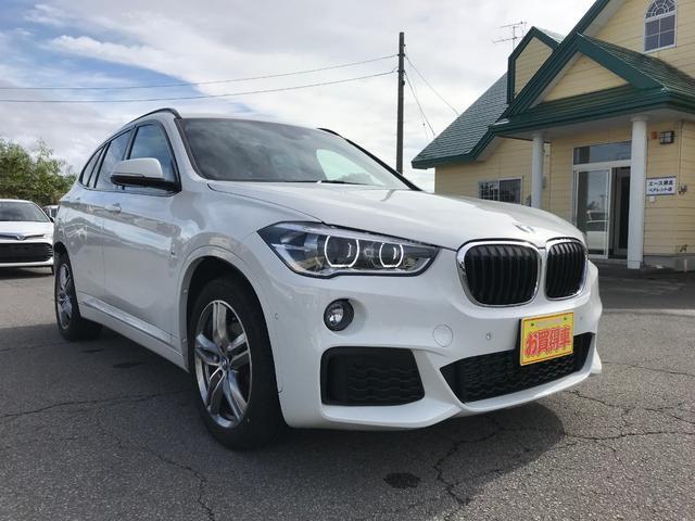 BMW X1 xDrive 18d Mスポーツ コンフォートパッケージ LEDヘッドランプ パワートランク アクティブクルーズコントロール ヘッドアップディスプレイ シートヒーター 社外地デジチューナー