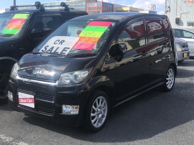 ダイハツ カスタム R 4WD ターボ HDDナビ フルセグTV CD