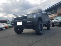 ハイラックスサーフ4WD 4ナンバー リフトアップ 社外アルミ 社外マフラー