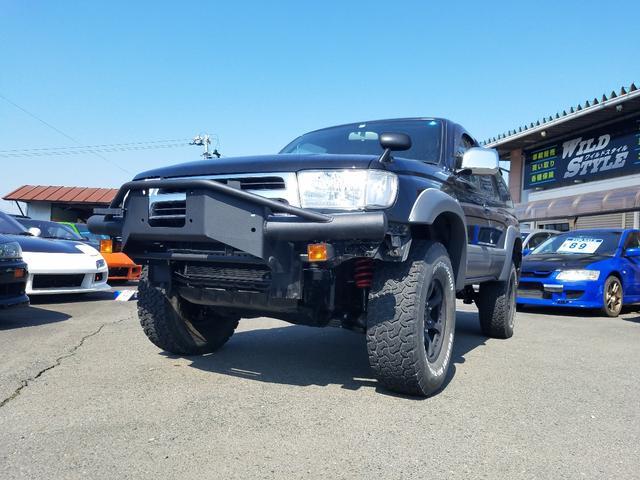 トヨタ SSR-X  リフトアップ 社外ホイール