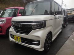N BOXカスタムカスタムG・Lホンダセンシング 4WD 登録済未使用車