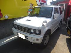 パジェロミニホワイトエディション 4WD オートマ エンジンスターター