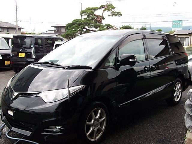 トヨタ エスティマ アエラス 4WD キーフリー 片側パワスラ