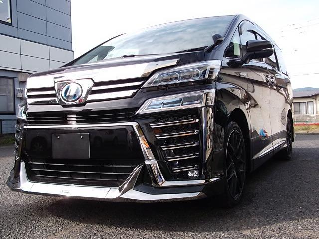 トヨタ Z 4WD・モデリスタ仕様・内装黒・G10インチナビ・フリップダウンモニター