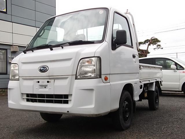 スバル サンバートラック TB 4WD切替・走75000・5MT・エアB