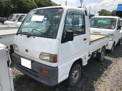 サンバートラックスペシャル 4WD エアコン マニュアル5速 軽トラック