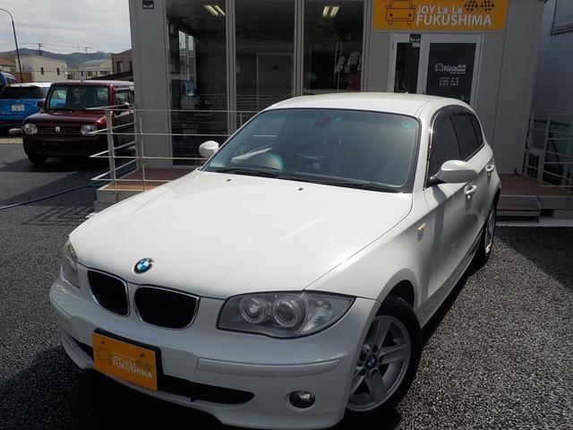 BMW 118i プッシュスタート 6速スポーツシフト レザーシート