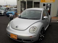 VW ニュービートル車高調 18アルミ ナビTV 女性1オーナー コーティング済