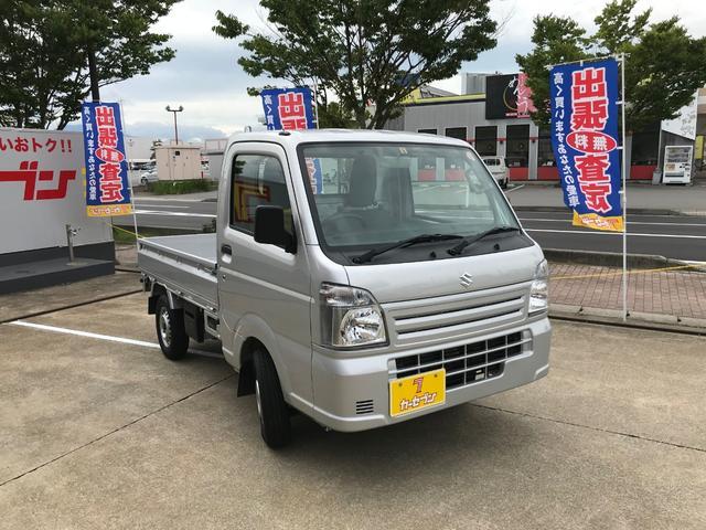 スズキ KCエアコン・パワステ 4WD マニュアル 軽トラック