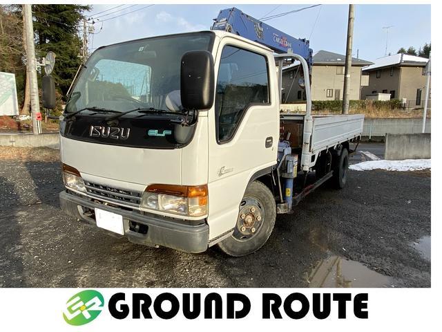 いすゞ エルフトラック  TADANO ZR234 4段ユニック