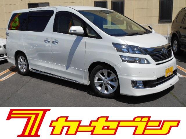 トヨタ 2.4Vワンオ-ナ-モデリスタエアロフリップダウンモニタ-