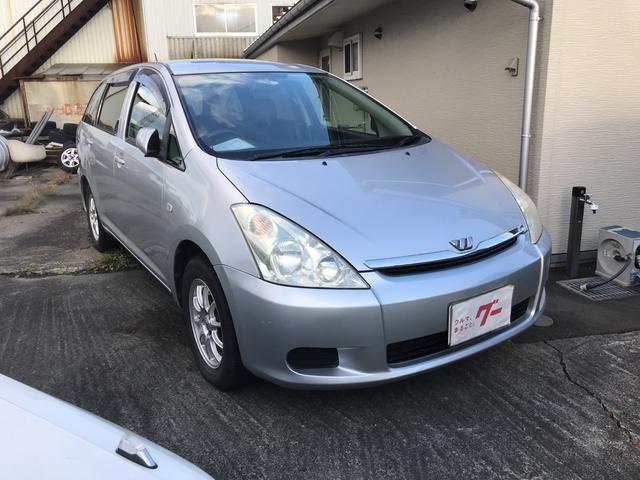 トヨタ X CD キーレス 3列シート 7人乗り 社外15AW