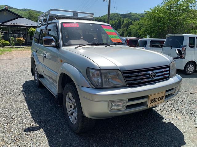 「トヨタ」「ランドクルーザープラド」「SUV・クロカン」「岩手県」の中古車