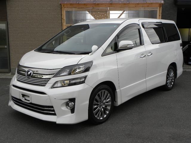 トヨタ 2.4Z ゴールデンアイズII 4WD HDDナビ後席モニタ
