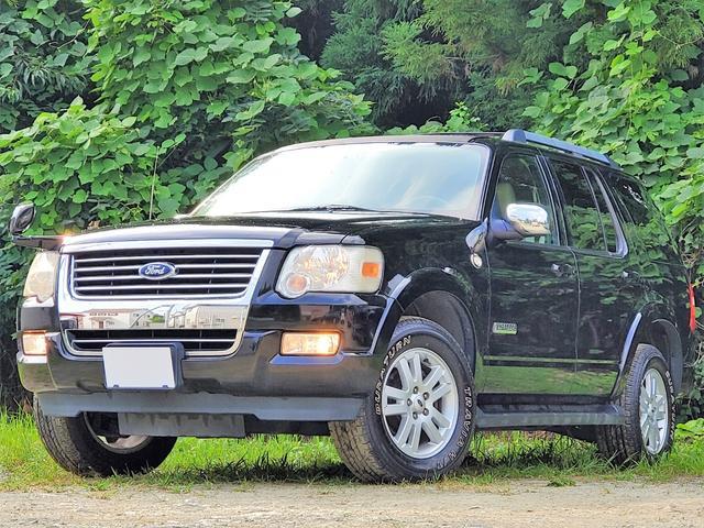 フォード XLTエクスクルーシブ 1ナンバー/サンルーフ/本革シート/社外ナビ/地デジ/DVD/MS/AUX/ETC/4人乗り登録