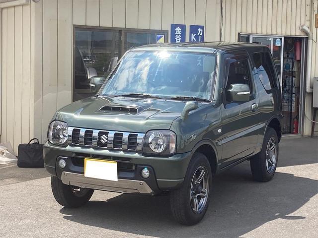 スズキ ジムニー ランドベンチャー パートタイム4WD シ-トヒ-タ-  キーレスキー ABS付