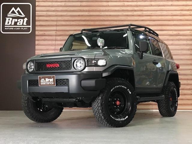 トヨタ オフロードパッケージ 4WD リフトアップ ルーフラック