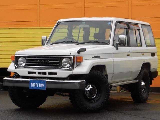トヨタ LX NEW輸入ホイルM/Tタイヤ 5MT タイベル交換済