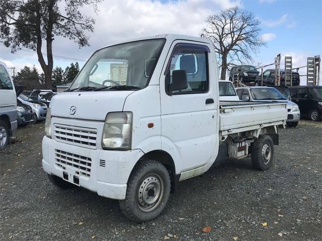 マツダ スクラムトラック ダンプ ダンプ 4WD AC MT 軽トラック