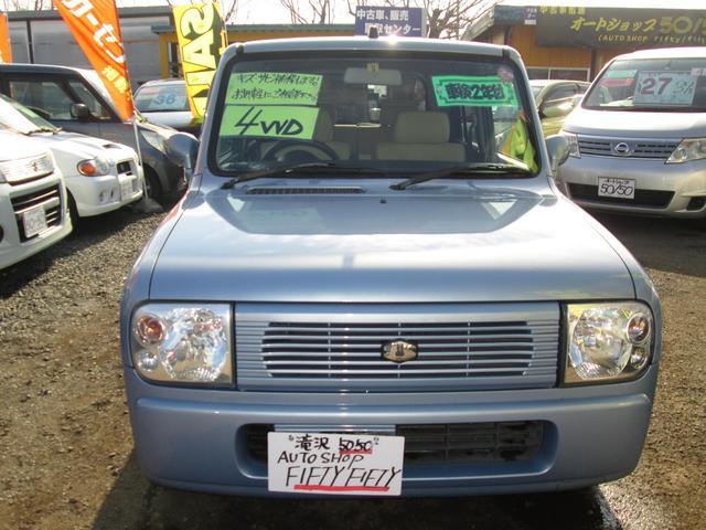 スズキ Lリミテッド 4WD アルミ ブルーメタ