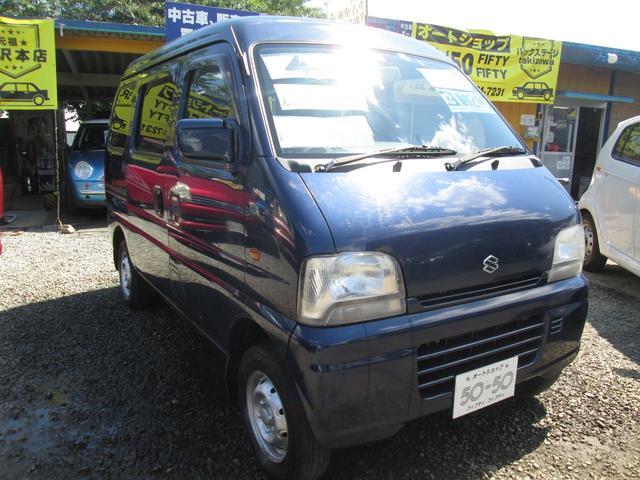 スズキ エブリイ ジョイン 5速マニュアル4WD 8万K