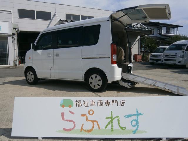スズキ ウィズ車いす移動車4WD 後席付き 電動固定